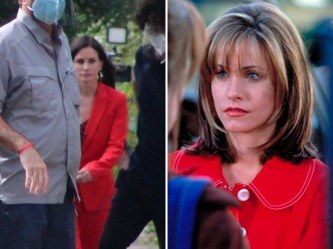 Courteney Cox reprises role as Gale Weathers in first look at Scream 5 filming