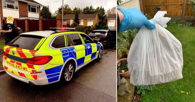 Police dropped off a kebab after arresting the delivery driver
