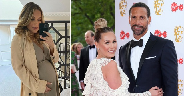 Kate Ferdinand and Rio Ferdinand