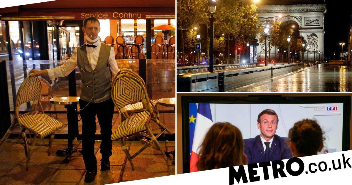 Coronavirus: France to enter second national lockdown
