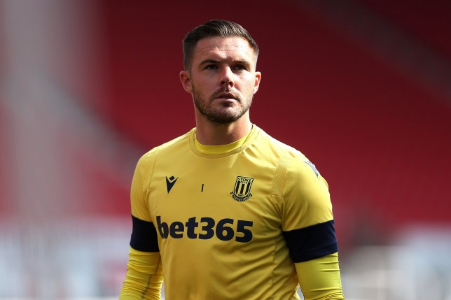 Stoke City goalkeeper Jack Butland is wanted by Liverpool