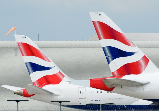 Mandatory Credit: Photo by Nick Harvey/REX/Shutterstock (10634159a) British Airways planes grounded at Heathrow Airport during Coronavirus lockdown. Coronavirus outbreak, London, UK - 04 May 2020