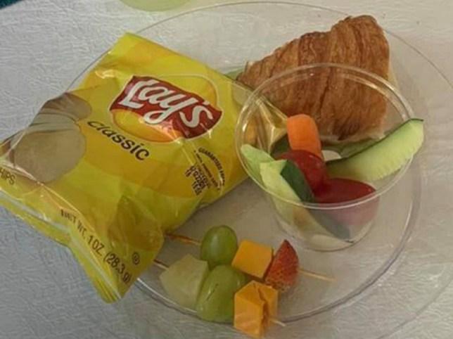 Hilariously bad wedding meal Facebook
