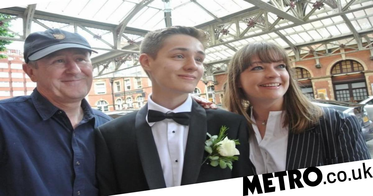 Nicholas Lyndhurst releases statement over death of son...