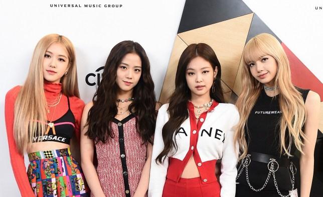 BLACKPINK - made up of Rose, Jisoo, Jennie and Lisa