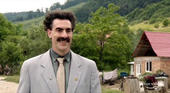Sacha Baron Cohen in Borat 2.