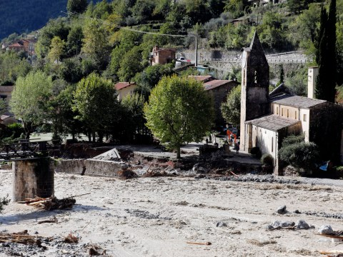 Two dead and at least 24 missing in France and Italy amid heavy flooding