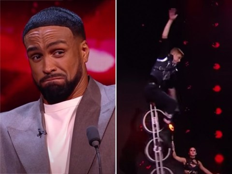 Britain's Got Talent unicyclist horrifies Ashley Banjo after almost falling 30ft in danger act: 'This is stressing me out'