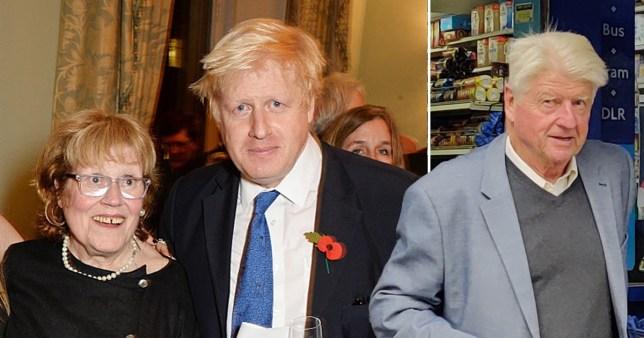 Boris Johnson's dad Stanley 'broke wife's nose in domestic incident' Getty/Rex
