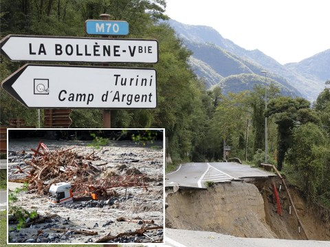 Homes and bridges swept away by raging floods as Storm Alex batters Europe