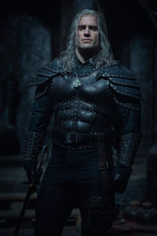 Undated handout photo issued by Netflix showing actor Henry Cavill from the second season of The Witcher. They show the British actor in new armour as Geralt of Rivia. Production is back under way in the UK after a coronavirus-enforced break. PA Photo. Issue date: Monday October 5, 2020. See PA story SHOWBIZ Witcher. Photo credit should read: Jay Maidment/Netflix/PA Wire NOTE TO EDITORS: This handout photo may only be used in for editorial reporting purposes for the contemporaneous illustration of events, things or the people in the image or facts mentioned in the caption. Reuse of the picture may require further permission from the copyright holder.