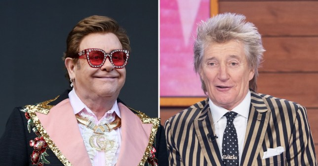 Sir Elton John 'rejected' Rod Stewart's olive branch amid fued over farewell tour