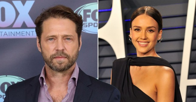 Jason Priestley Responds After Jessica Alba Claims She ?Couldn?t Make Eye Contact? With ?90210? Cast Pictures: Getty