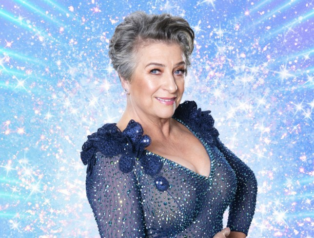 Caroline Quentin on Strictly Come Dancing