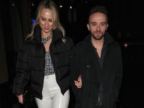 Coronation Street's Jack P Shepherd and girlfriend Hanni Treweek all smiles on date night in Manchester