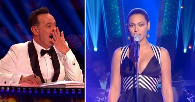 Craig Revel Horwood says no one was allowed to look at Beyonce on Strictly