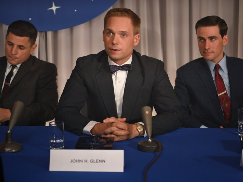 Patrick J Adams on switching Suits for spacesuits as he stars in Disney+'s new series The Right Stuff