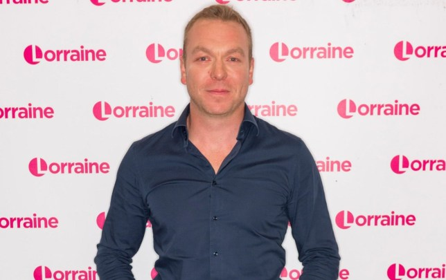 Sir Chris Hoy 'Lorraine' TV show, London, UK - 18 Sep 2018 Editorial use only Mandatory Credit: Photo by Ken McKay/ITV/REX (9885693e)
