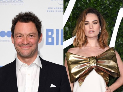 Married Dominic West, 50, spotted kissing Lily James, 31, on idyllic Rome getaway