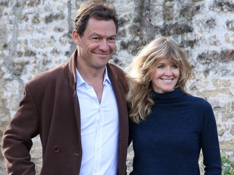 Dominic West's 'heartbroken' wife Catherine FitzGerald 'flees marital home' after Lily James pictures