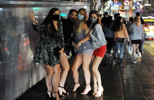 10 p.m. Revelers curfew in Newcastle tonight (Wednesday) even though positive TESTS for COVID-19 have increased in the city and Public Health England has declared Newcastle the No.1 point for Covid-19 in the UK,