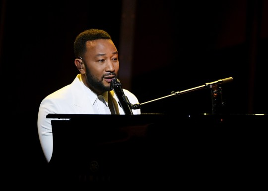 HOLLYWOOD, CALIFORNIA - OCTOBER 14: In this image released on October 14, John Legend performs onstage at the 2020 Billboard Music Awards, broadcast on October 14, 2020 at the Dolby Theatre in Los Angeles, CA. (Photo by Kevin Winter/BBMA2020/Getty Images for dcp)