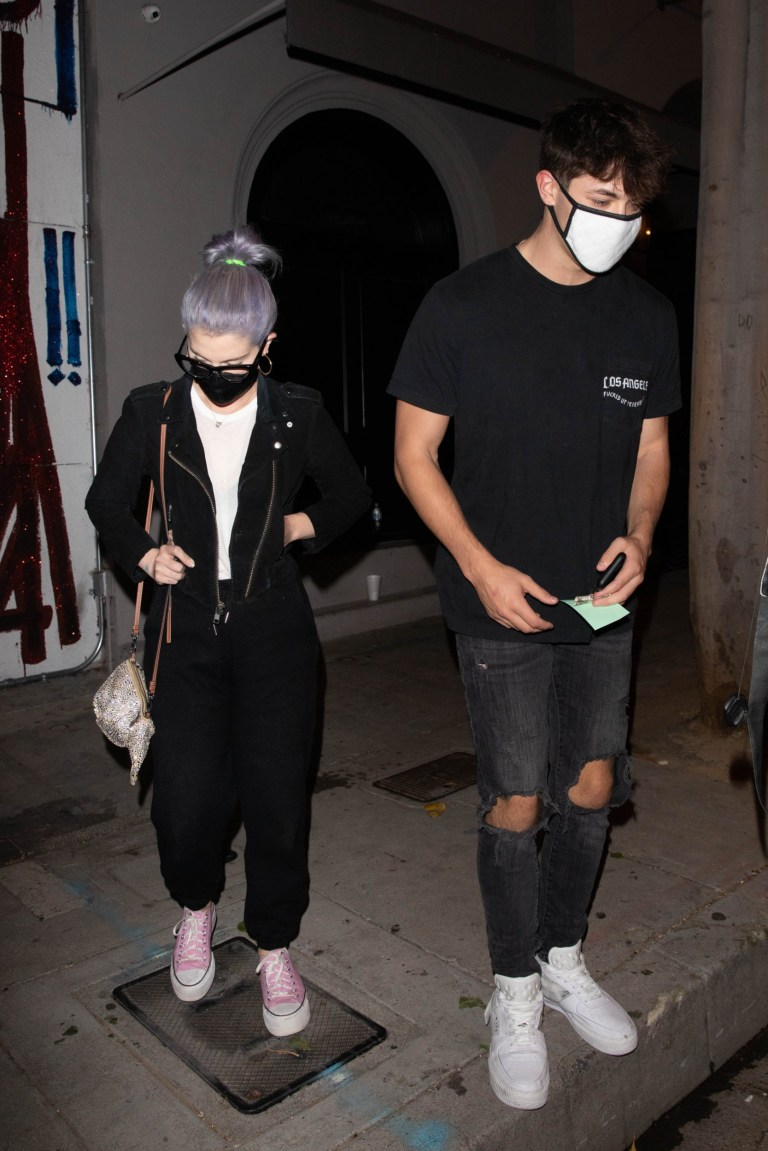 Kelly Osbourne and Griffin Johnson