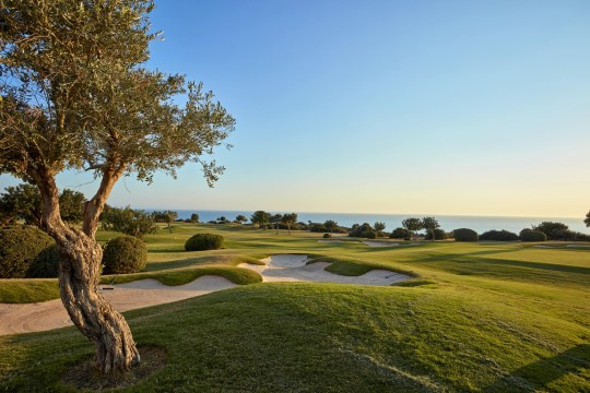 Aphrodite Hills Resort Cyprus golf course view