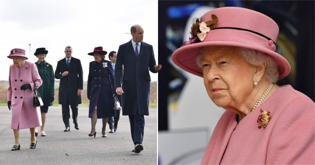 Queen goes out and about with Will for first time since lockdown