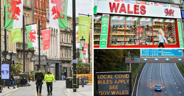 Wales bans people from England's covid spots Getty Images