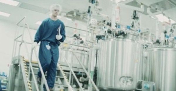 Vaccines rolling off production line