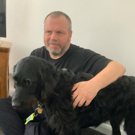 Bind Keith Valentine has slammed Wetherspoon after he said he was kicked out of the biggest pub in Britain after bosses objected to his guide dog. TRIANGLE NEWS 0203 176 5581// contact@trianglenews.co.uk By Andy Crick A BLIND man has slammed Wetherspoon after he said he was kicked out of the biggest pub in Britain after bosses objected to his guide dog. Keith Valentine went into the 1,500-capacity Royal Victoria Pavilion boozer with his wife Carolyn and labradoodle Dottie. The 53-year-old said they declared his assistance dog - who he is currently training - when they went in. The couple checked in on the Covid-19 Track and Trace system and he and his two-year-old pooch were shown to an outside table overlooking the sea. However, he said after they ordered their drinks at the pub in Ramsgate, Kent 1pm on Saturday they were then told they had to leave. Shocked Keith said staff accused him of getting into the 11,000 sq foot pub - Wetherspoons??? flagship - via a fire exit.