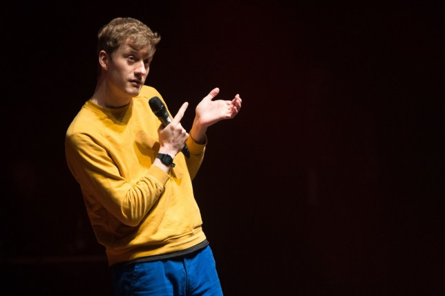 James Acaster Stand up for Shelter at the O2 Shepherds Bush Empire, London, UK - 21 Mar 2019 Mandatory Credit: Photo by RMV/REX (10163728ax)