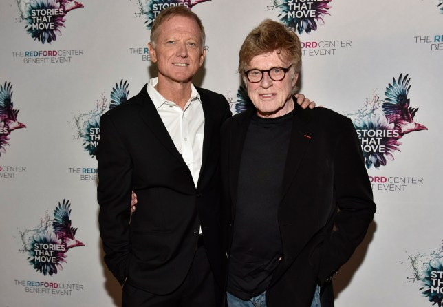 James Redford (L) and Robert Redford attend The Redford Center's Benefit at August Hall on December 6, 2018 in San Francisco