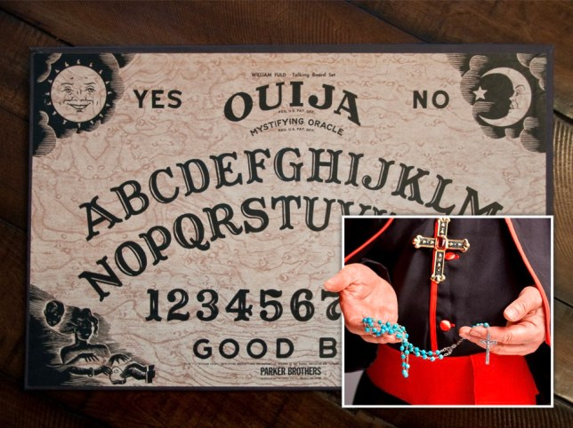 Poundland has removed novelty ouija boards from shelves in Northern Ireland.