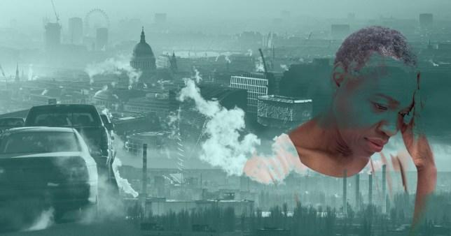 Getty Images Pollution de l'air liée à la maladie d'Alzheimer et à la maladie de Parkinson