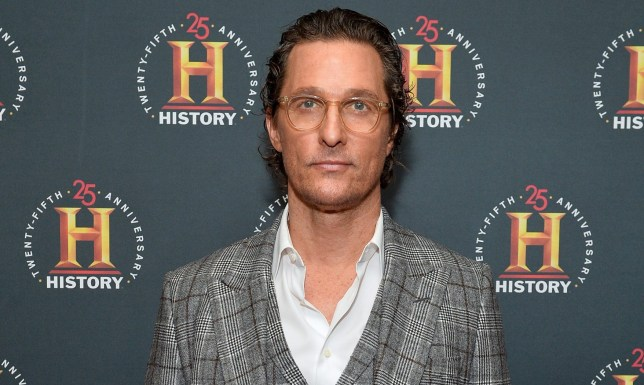 NEW YORK, NEW YORK - FEBRUARY 29: Matthew McConaughey attends HISTORYTalks Leadership & Legacy presented by HISTORY at Carnegie Hall on February 29, 2020 in New York City. (Photo by Noam Galai/Getty Images for HISTORY)