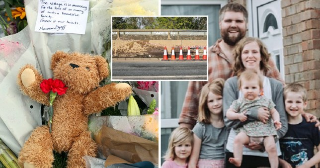 Dad's heartbreaking tribute to wife and three children killed in crash PA