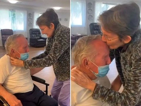 Couple married for 60 years reunited after 215 days apart due to coronavirus restrictions