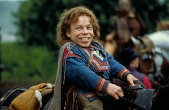 Editorial use only. No book cover usage. Mandatory Credit: Photo by Moviestore/REX (1628987a) Willow, Warwick Davis Film and Television