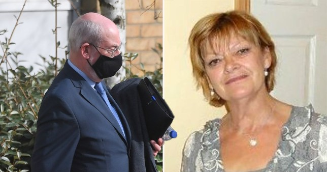 Jacqueline Bradnick was killed after Ian Catley's car drove over her after 'mistaking her for a rubbish bag'.