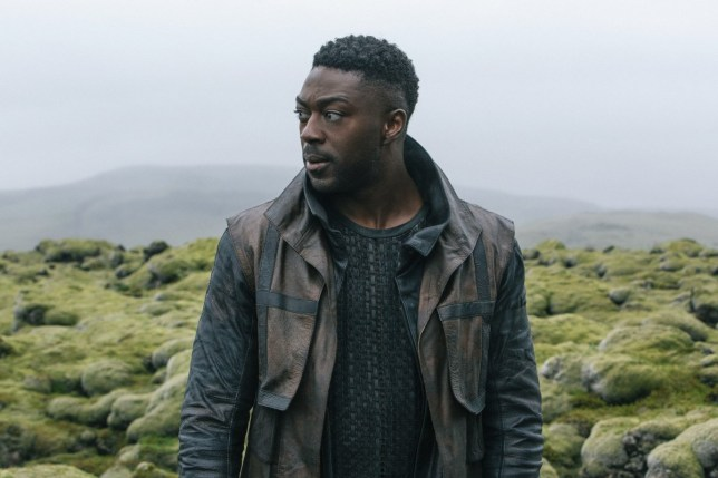 DAVID AJALA - CLEVELAND BOOKER STAR TREK DISCOVERY