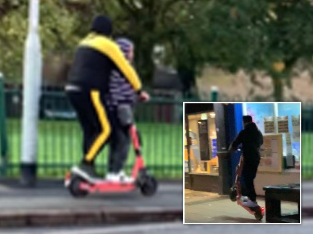 E-scooter riders have been shown misusing the devices in a dossier collated by the National Federation of the Blind of the UK