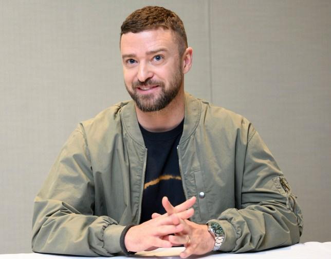 Mandatory Credit: Photo by Magnus Sundholm/REX (10548313au) Justin Timberlake 'Trolls World Tour' film photocall, Dreamworks Animation LLC, Glendale, USA - 04 Feb 2020
