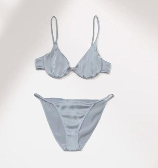 grey underwear