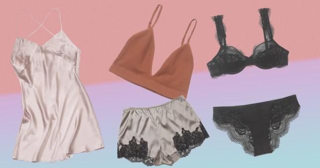 Zara lingerie collection