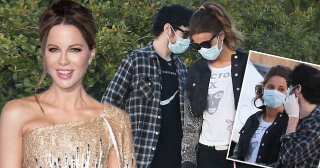 Kate Beckinsale and Goody Grace Split