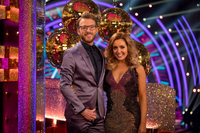 JJ Chalmers and Amy Dowden during the launch show for the BBC1 dancing contest, Strictly Come Dancing.