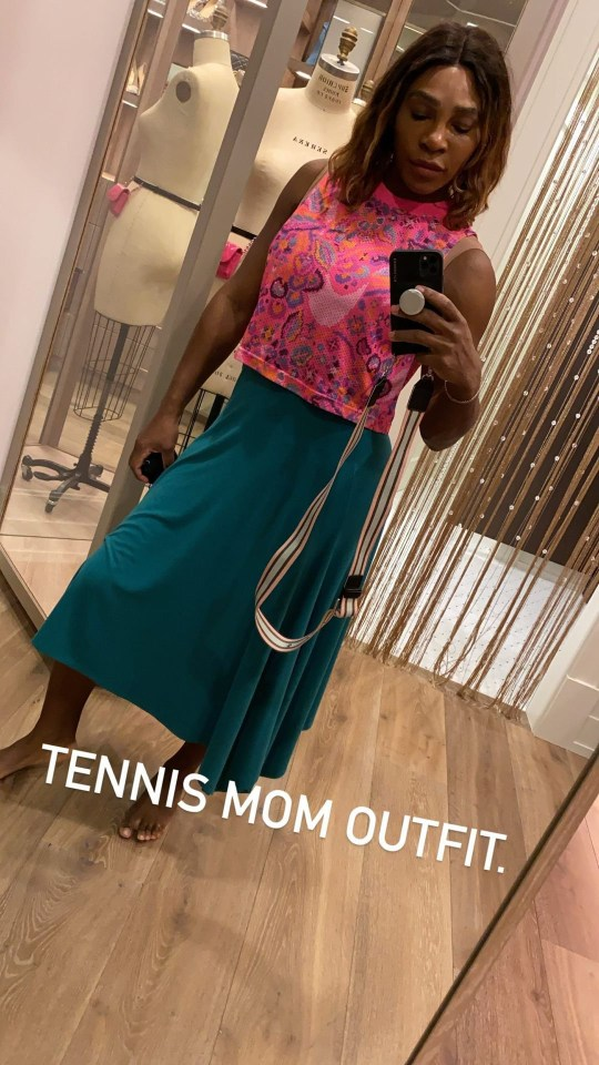 Serena Williams Takes Daughter Olympia, 3, to First Tennis Lesson
