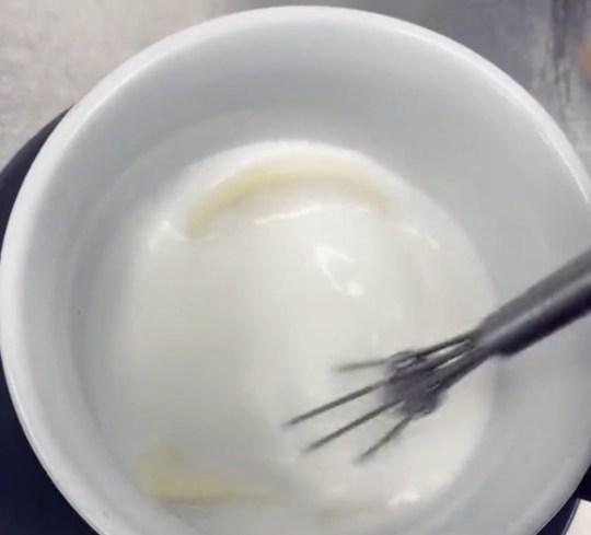 Terry's white hot choc recipe